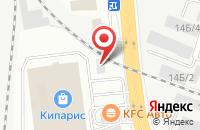 Схема проезда до компании Лана в Иркутске