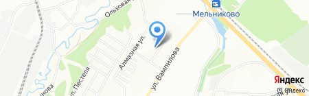 Общественная приемная депутата Иркутской городской Думы Гущина И.А. на карте Иркутска