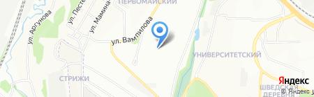 Кёрлинг на карте Иркутска