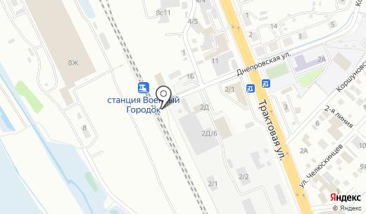 АзЭнергоБайкал. Схема проезда в Иркутске