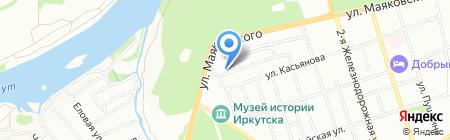 DIAG-PROFI на карте Иркутска