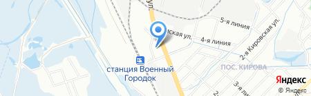Стройкомплект на карте Иркутска