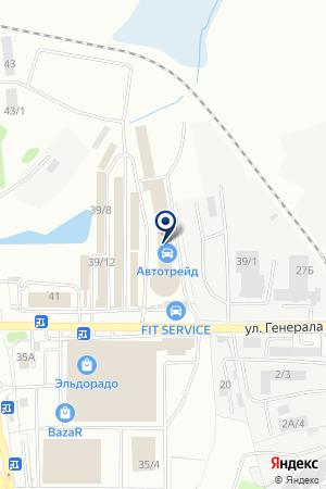 СВАМИ на карте Иркутска