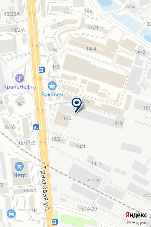 Гусефф на карте Иркутска