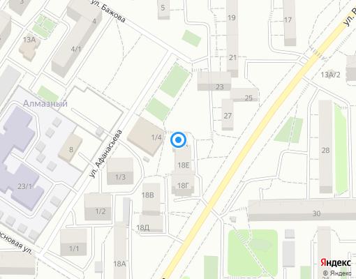 Товарищество собственников жилья «Свой Дом» на карте Иркутска