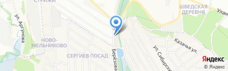 Авант-Строй на карте Иркутска