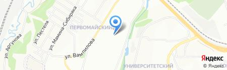 Иркутский областной специализированный дом ребенка №1 на карте Иркутска