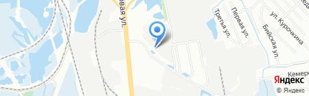 Промсвет на карте Иркутска