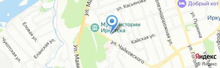 Специализированная рота ДПС ОР при ГУВД Иркутской области на карте Иркутска