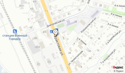 IrkShina. Схема проезда в Иркутске