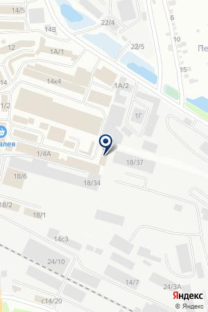 Оптово-розничный магазин мясопродуктов на карте Иркутска