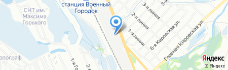 СибАвтоГруз на карте Иркутска