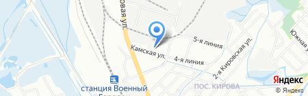 Движок на карте Иркутска