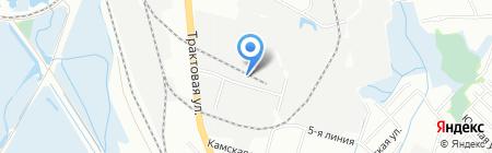 Юник на карте Иркутска