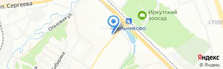 SMETANA на карте Иркутска