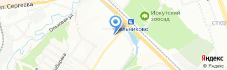 Связной на карте Иркутска