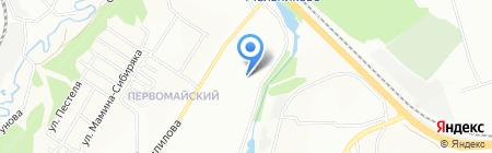 Budini на карте Иркутска