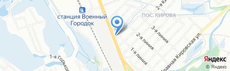 Оптово-розничный центр на карте Иркутска