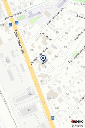 ВостСибподшипник на карте Иркутска