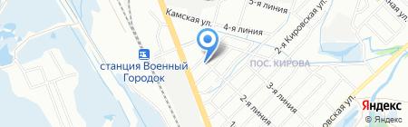 Распил-авто на карте Иркутска