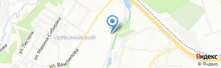 БайкалТехАвто на карте Иркутска