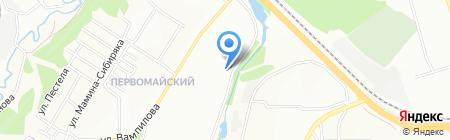 Ай-да Пес на карте Иркутска
