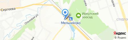 Квадр секьюрити на карте Иркутска