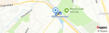 АртФлора на карте Иркутска