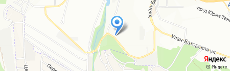 Арт Декор на карте Иркутска
