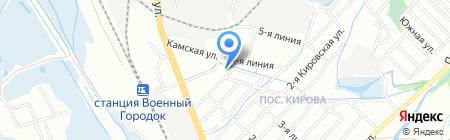 Детский сад №61 на карте Иркутска