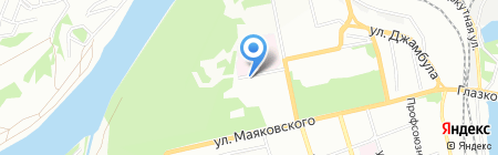 Энерджи Тим на карте Иркутска