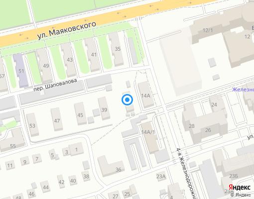Товарищество собственников жилья «Родной дворик» на карте Иркутска