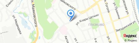 ЭрДми на карте Иркутска