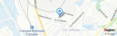 Система Город на карте Иркутска