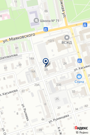 Охрана на карте Иркутска