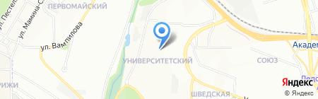 Цирюльня. на карте Иркутска