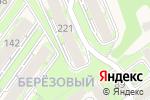 Схема проезда до компании Березовый в Марковой