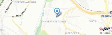 Умнички на карте Иркутска