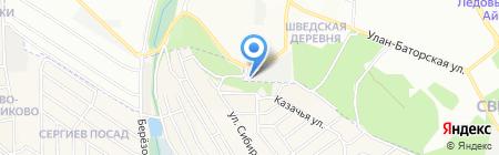 Автогаражный кооператив №173 на карте Иркутска