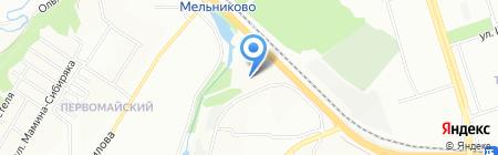 Средняя общеобразовательная школа №55 на карте Иркутска