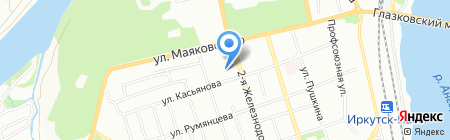 Felicia на карте Иркутска