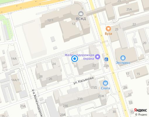 Товарищество собственников жилья «ТСЖ Глазковское» на карте Иркутска