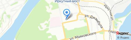 Лайт+ на карте Иркутска