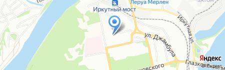 Детский сад №216 на карте Иркутска