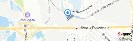АвтоШинТорг на карте Иркутска