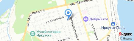 ПравоПом на карте Иркутска