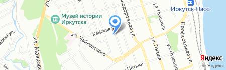 БайкалЭлектроСтрой на карте Иркутска