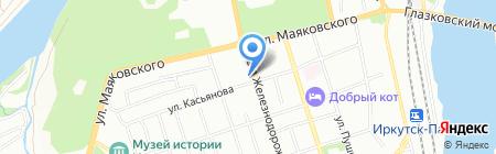 Строительное многопрофильное предприятие №621 на карте Иркутска