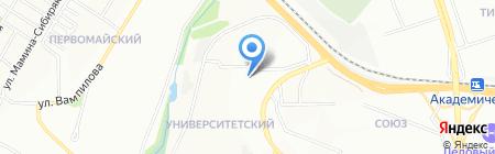 Фотосалон на карте Иркутска