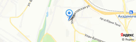 Детский сад №169 на карте Иркутска